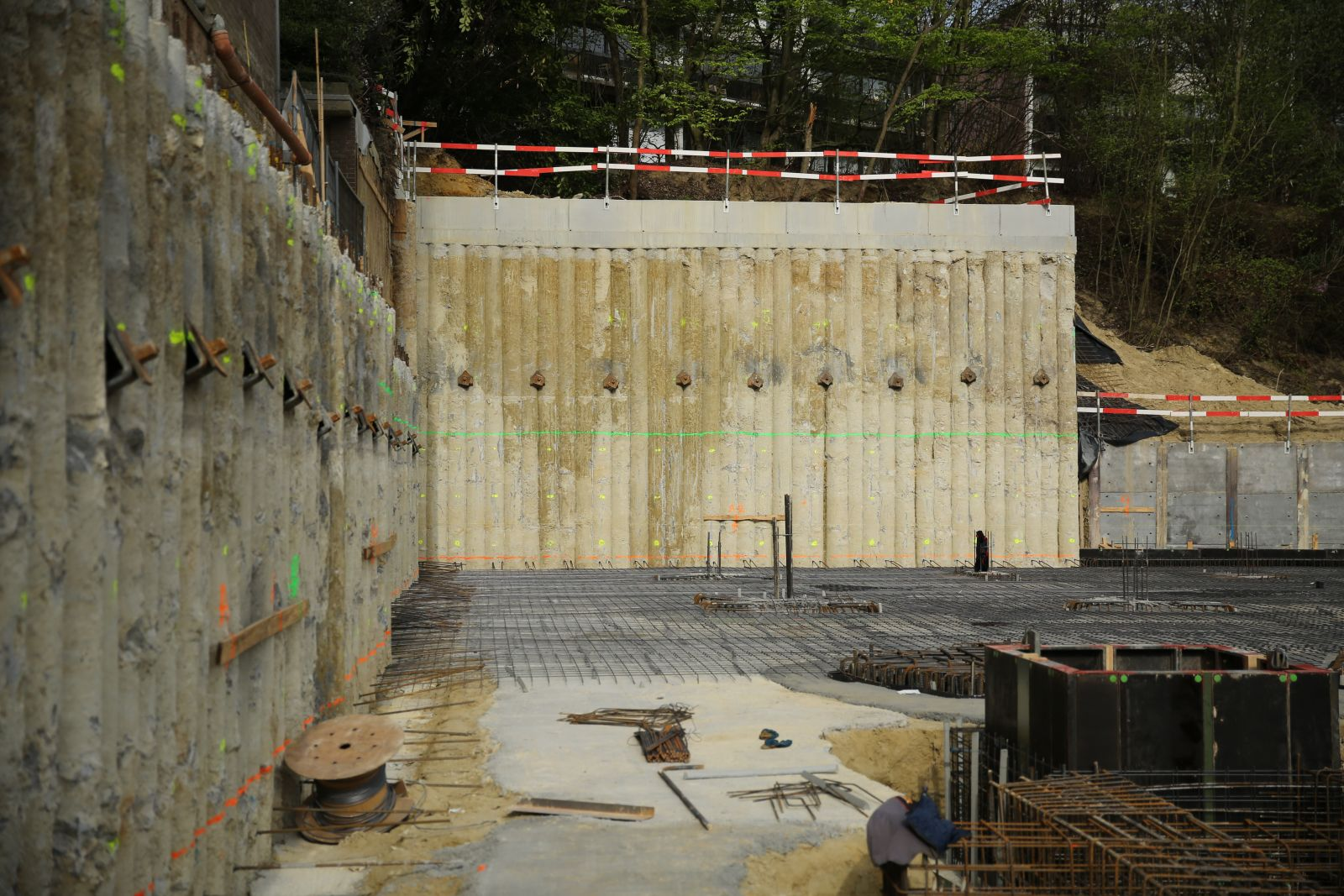 betonowe palisady